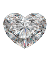 Heart Graded diamond. Monford Diamonds in Berkshire and Buckinghamshire